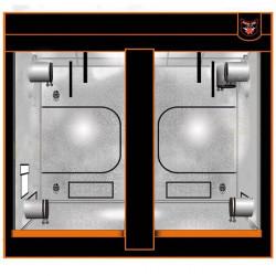chambre de culture Superbox mylar 240 V2 - 240X120X200, haute qualité 600D