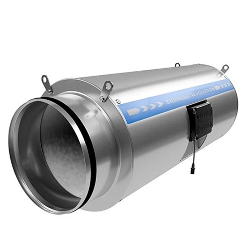 Silencer Extractor Revolution Vector 200EC - System Air