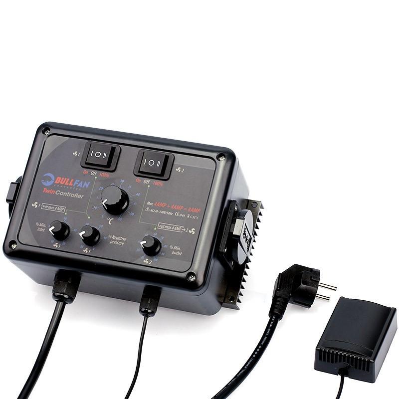 TWIN CONTROLLER 4+4 AMP - BULLFAN