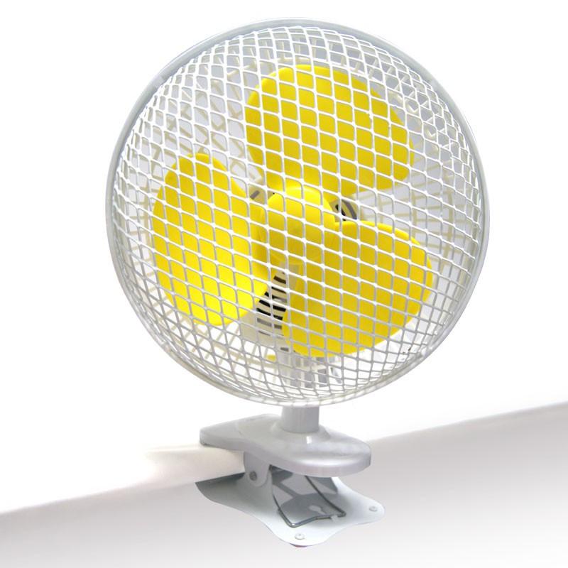 Clip on fan OSCILLANT 18CM 20W - AIRONTEK