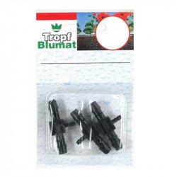 3 T d'irrigation Blumat 8mm - sortie: 8/3/8mm