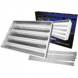Rampe néons 4 x 55 W avec tubes 2100 °K - StarLite , turbo néons , rampes fluorescents
