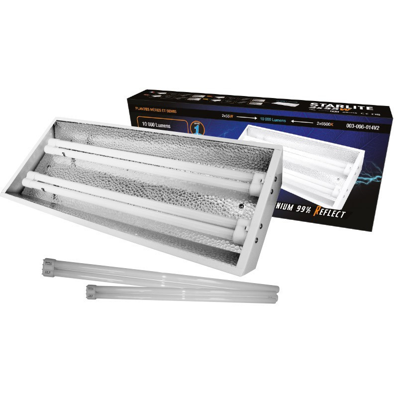 Boom neon StarLite 2 x 55 W with tubes 6500 °K, turbo neon , ramps, fluorescent