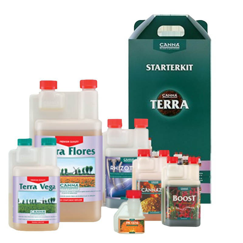Terra StarterKit soil growth fertilizer - Canna