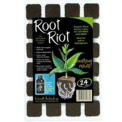 Root Riot cubes germination , bouturage 24 pcs