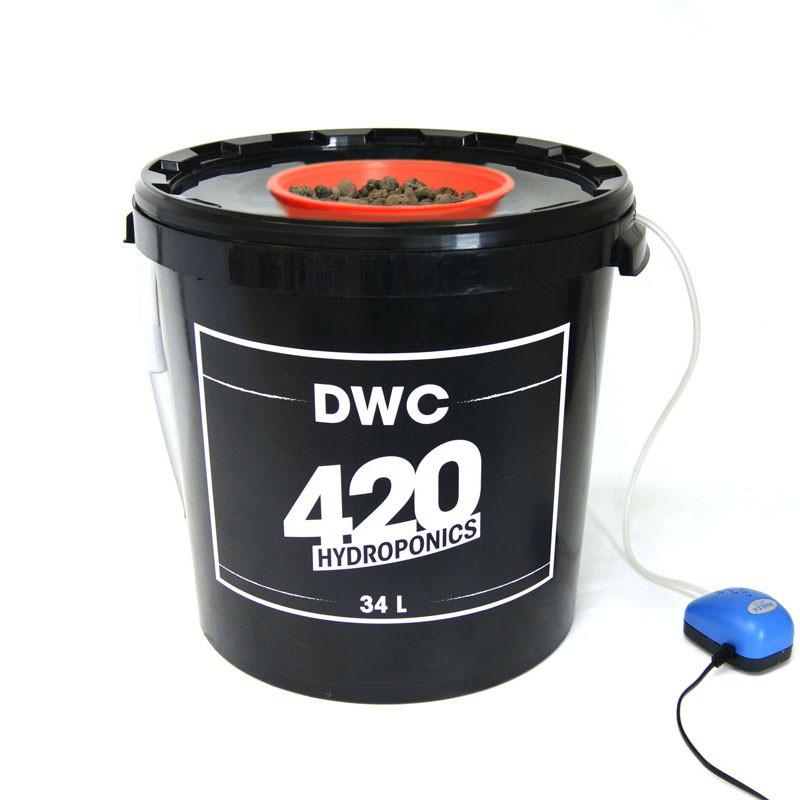 DWC 34L System - 420 Hydroponics