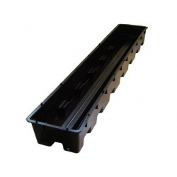 Bac Libra 100 x 16 x 9cm - sans pipe