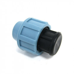 Irrigation - Raccord compression/bouchon femelle 16 mm