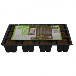 Eazy Plug Plaque 12 Cubes de germination , bouturage , tourbes