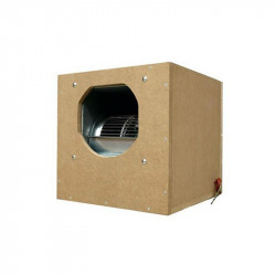 Caisson extracteur d'air insonorisé Air Box One pro softbox 6000m³ - 64X64X81cm / 2X250mm in/ 1x315mm