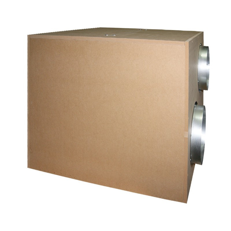 Caisson insonorisé Winflex Softbox 3250m³/h - 55x55x68cm / 2x250mm / 315mm