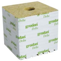 Grodan Cubes laine de roche 150X150X142mm Trous 40/40mm Carton de 48pcs