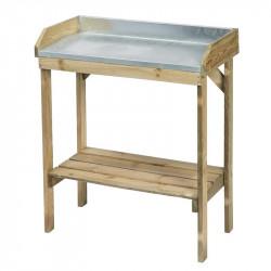 TABLE POUR LE REMPOTAGE H97X85X42CM