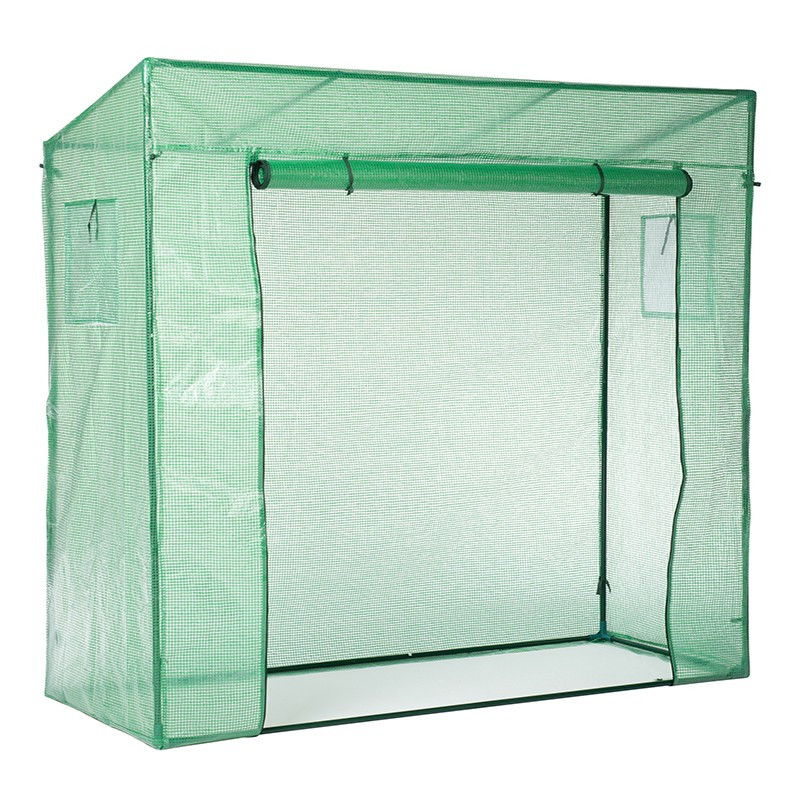 GREENHOUSE IN PE ARMS AND EPOXY TUBE -Ø18- H200X198X78CM 145g/m²