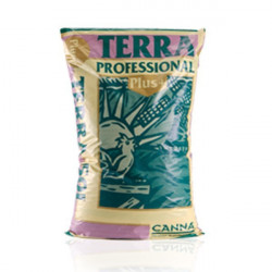 potting soil Canna Terra Professional Plus 50 L , growth and flowering