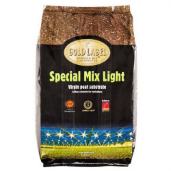 soil Gold Label Special Mix Light 40L , growth and flowering