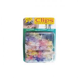 Clips Butterfly 35pcs plantes et orchidées