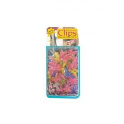 Clips Dragonfly 6pcs plantes et orchidées