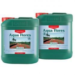 Engrais de floraison - Aqua Flores 2 x 5 L - Canna , hydroculture