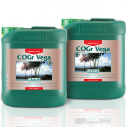 engrais COGr Vega A et B (2 x) 5 L - Canna