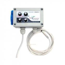 Gse Fan Contrôleur Min-max Hystérésis Pour 1 Extracteur (3A Max) , controlleur ventilation