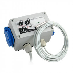 GSE Superfan Contrôleur 2 prises 220 V (5 A max) , controlleur extracteur ventilation