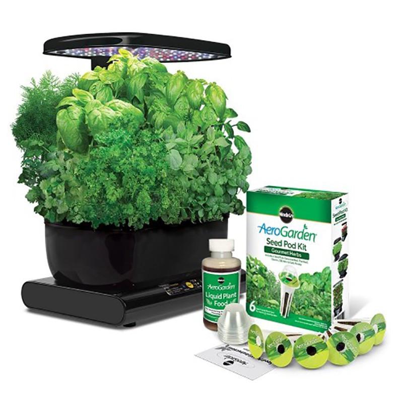 Garden Kitchen Aerogarden Led Black Indoor Discount