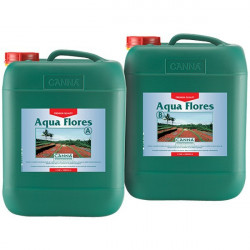 Fertilizer flowering Aqua Flores A+ B 2 x 10 L - Canna