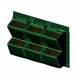 MODULOGREEN PLANT WALL 60X43CM WITHOUT SUBSTRATE