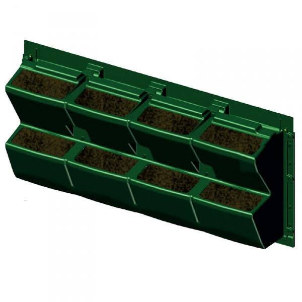 MODULOGREEN PLANT WALL 90X43CM WITHOUT SUBSTRATE
