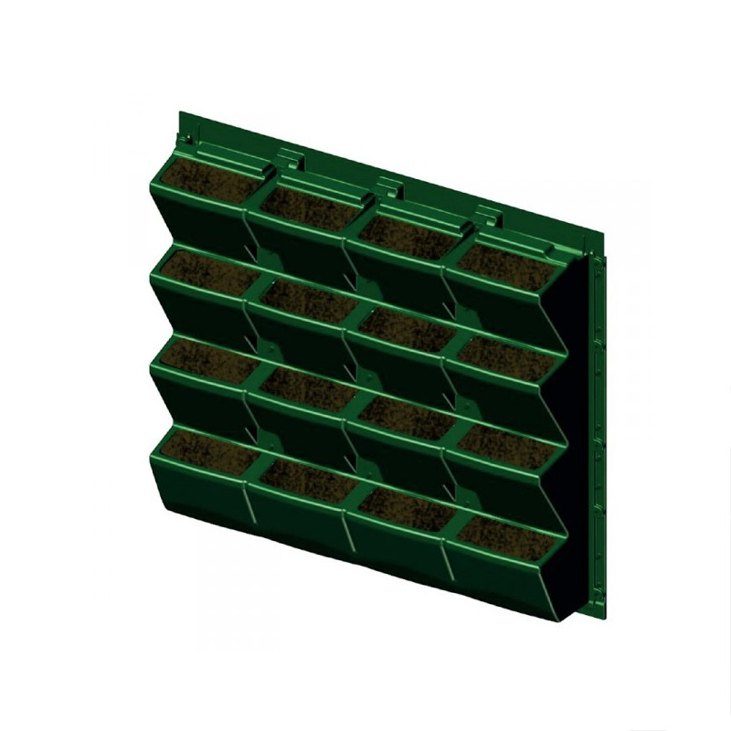 MODULOGREEN PLANT WALL 90X81CM WITHOUT SUBSTRATE