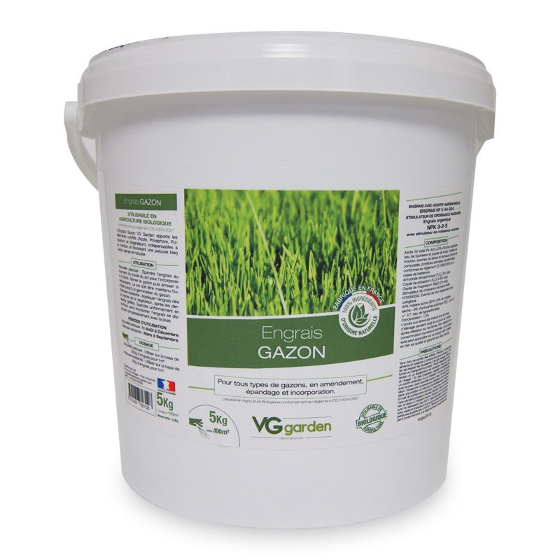 VG GARDEN GRASS FERTILIZER 5KG