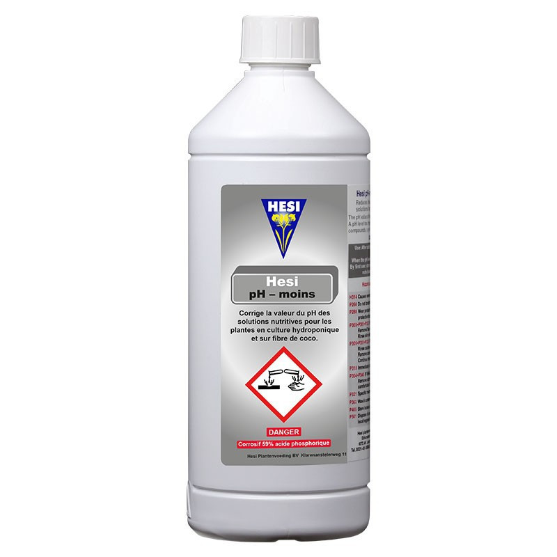 PH Regulator - pH minus Flower 1L - Hesi