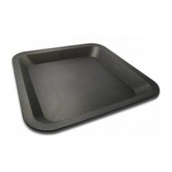 Coupelle carrée 23x23 cm ,  plateau , soucoupe