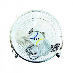 Ventilateur en métal 30cm - Brasseur d'air silencieux 30cm - 3 vitesses - BLT