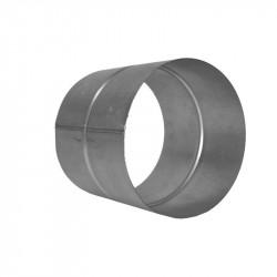 Jonction de gaine alu 150 mm femelle/femelle - conduit de ventilation Winflex