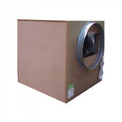 SONOBOX BOIS 75X75CM 7000M3/H 2 ENTREES 250  SORTIE 450 MM