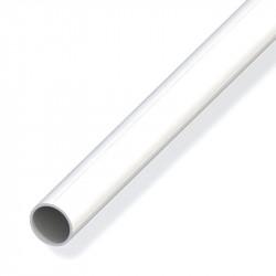 TUBE ROND DE 2.5M 15.5MM POUR M12 PVC BLC
