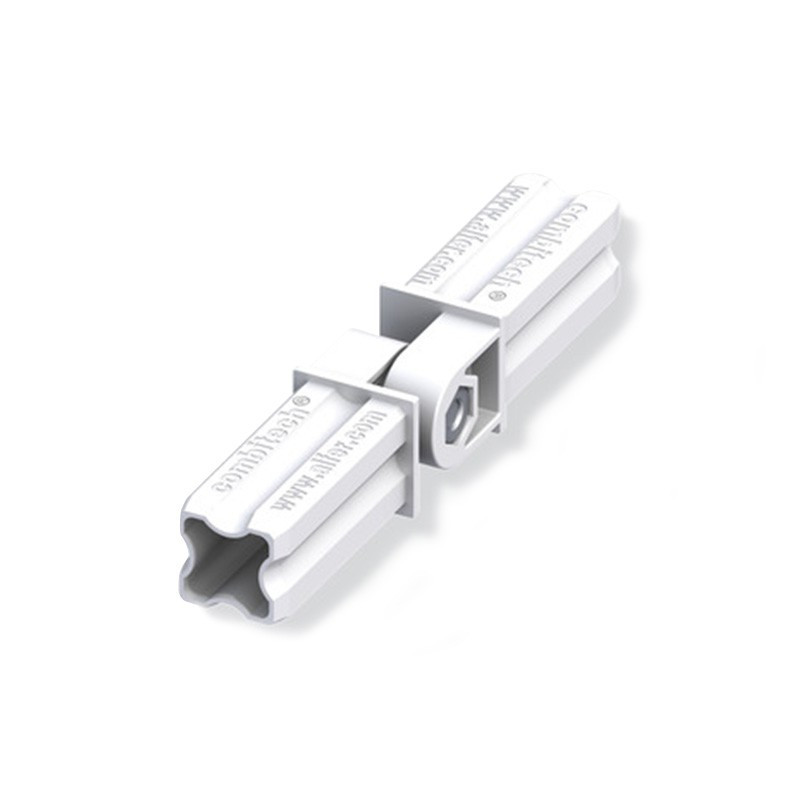 HINGED CONNECTOR WHITE 23.5MM 2 TIPS