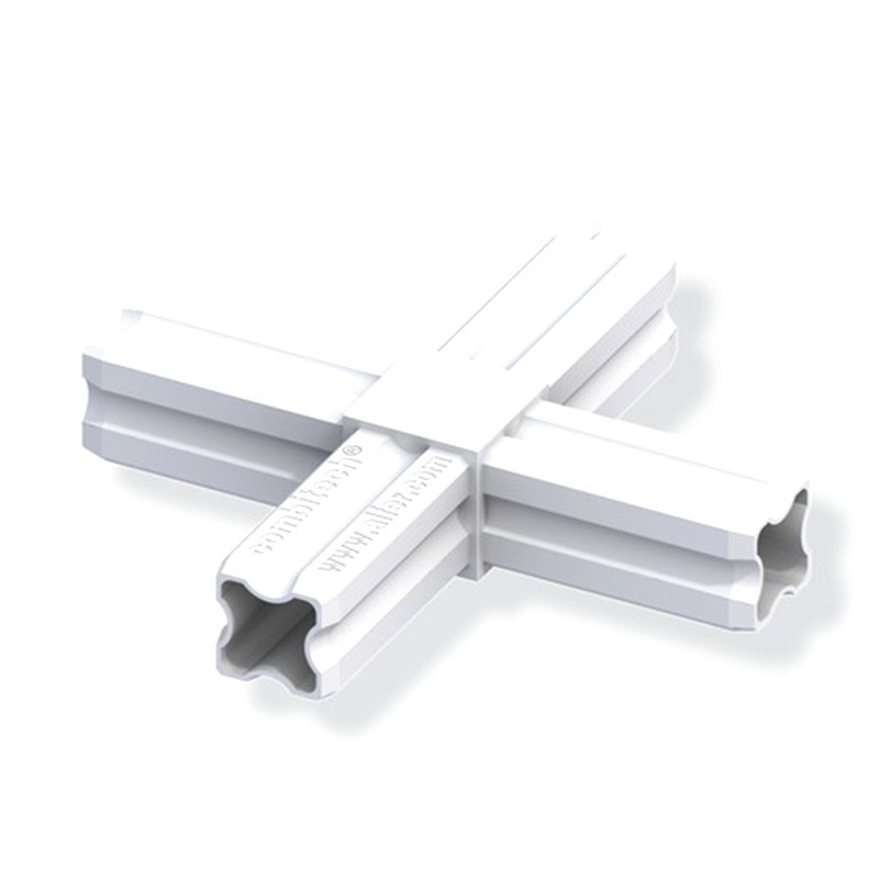 CROSS CONNECTOR WHITE 23.5MM 4 FERRULES