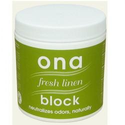 Contrôle des odeurs - Fresh Linen Block 170 g - ONA