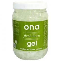 Contrôle des odeurs - Fresh Linen Gel 856g - ONA