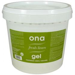 Contrôle des odeurs - Fresh Linen Gel seau de 3.8kgs - ONA