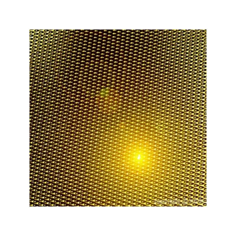 MYLAR GOLD BACHE ROLL 125 CM X 100M