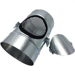 Control of the odour Control Duct 125 mm - ONA