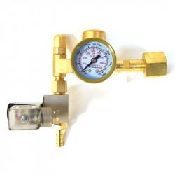 Manomètre électrovanne Ecotechnics CO2 Regulateur