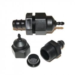 Adaptateur-réducteur avec filtre 16-6mm - Irrigation, arrosage - Autopot