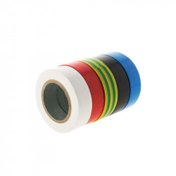 LOT OF 5 TAPE, ADHESIVE 15MMX10M