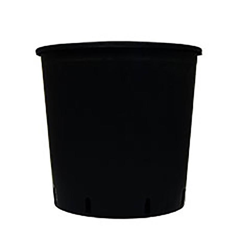 ROUND POT BLACK 18.5L 30X30