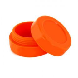 Boîte silicone diamètre 3,6 cm orange Wax